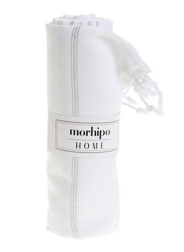 Morhipo Home Yaldızlı Peştemal Seti Beyaz